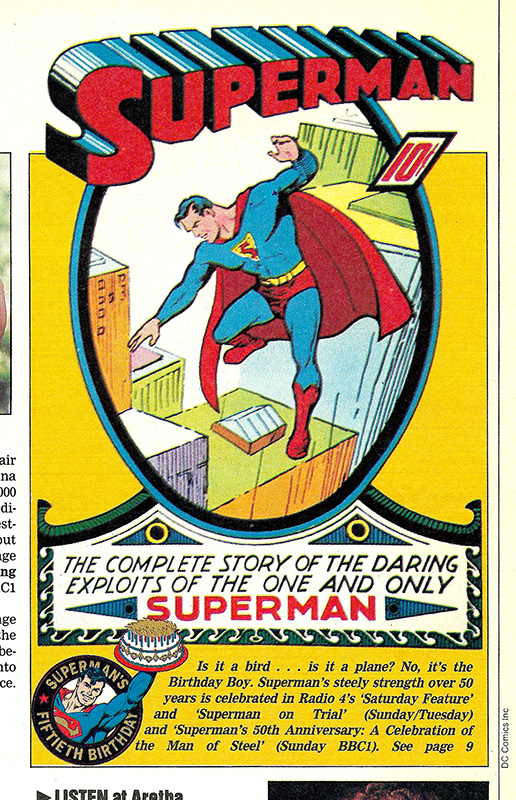 Superman Radio Times 1988 06 04 Article s