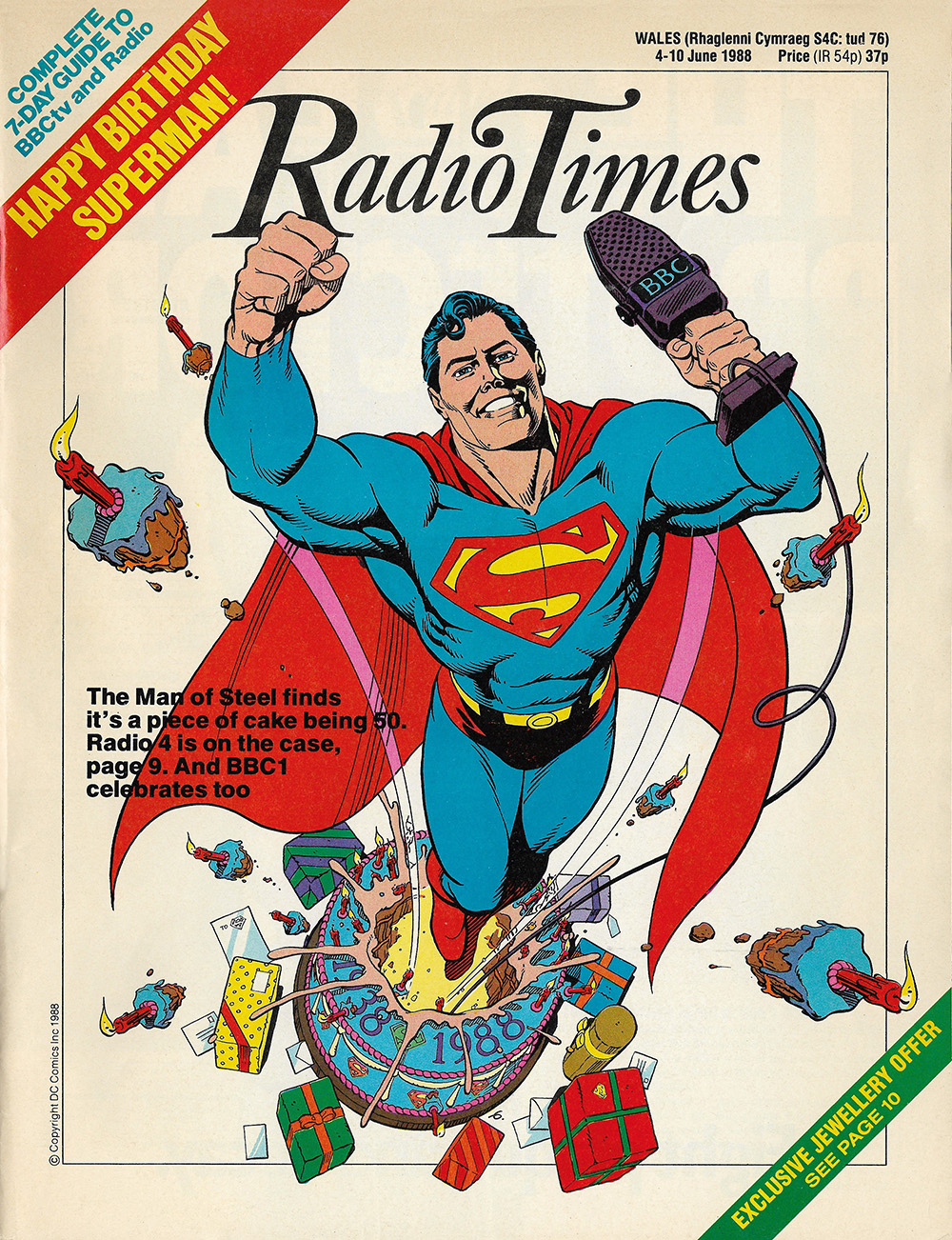 Superman Radio Times 1988 06 04 Cover s
