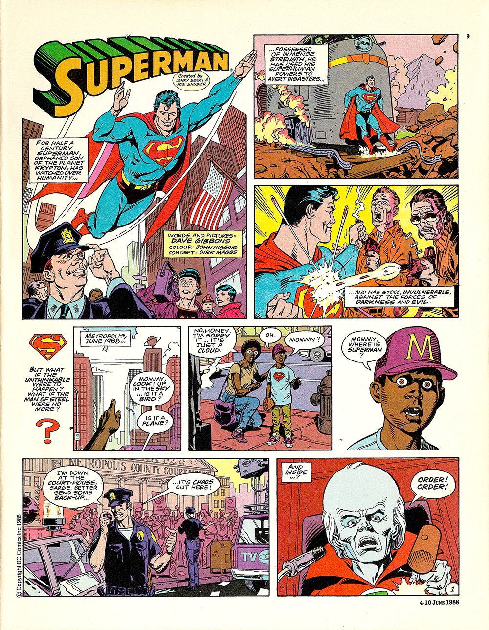 Superman Radio Times 1988 06 04 p09 s