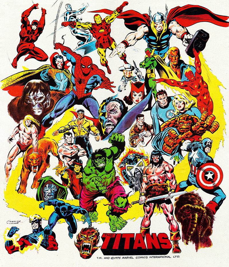 The Titans #1 free poster