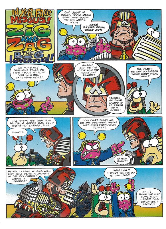 Zig and Zag Dredd