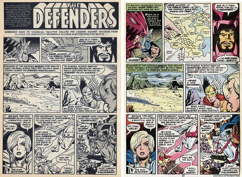 defenders page comparison
