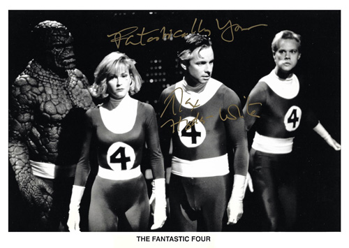 Fantastic Four photo signed ff