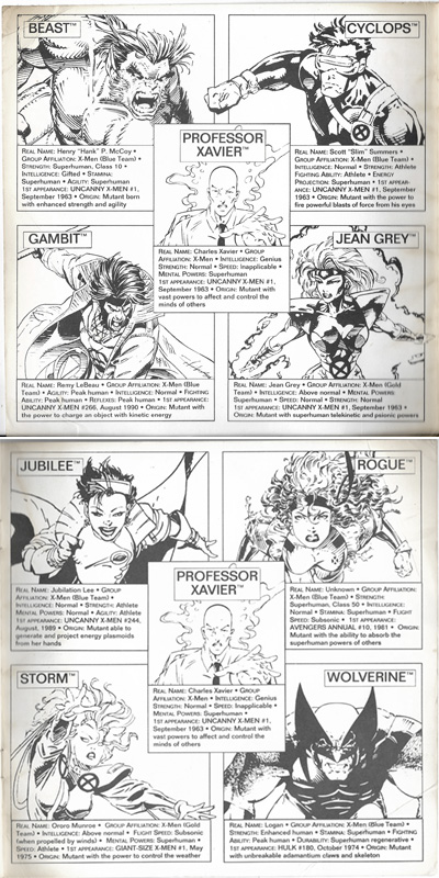 xmen morelock madness bios