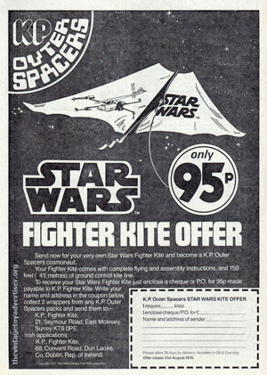 kp outer spacers star wars kite ad
