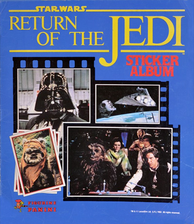 rotj sticker album