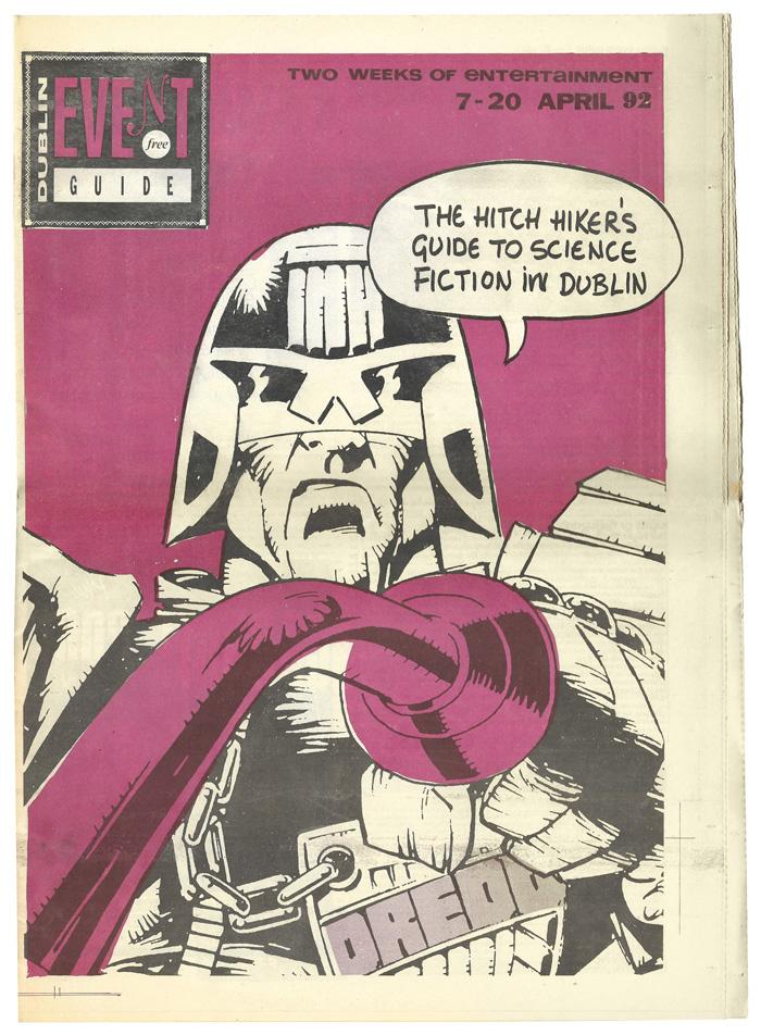 Dublin Event Guide 19920407 Dredd