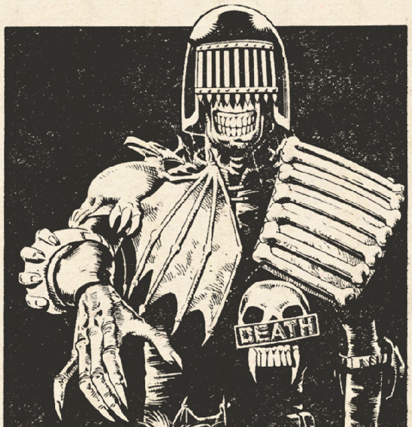 Judge Death first appearance