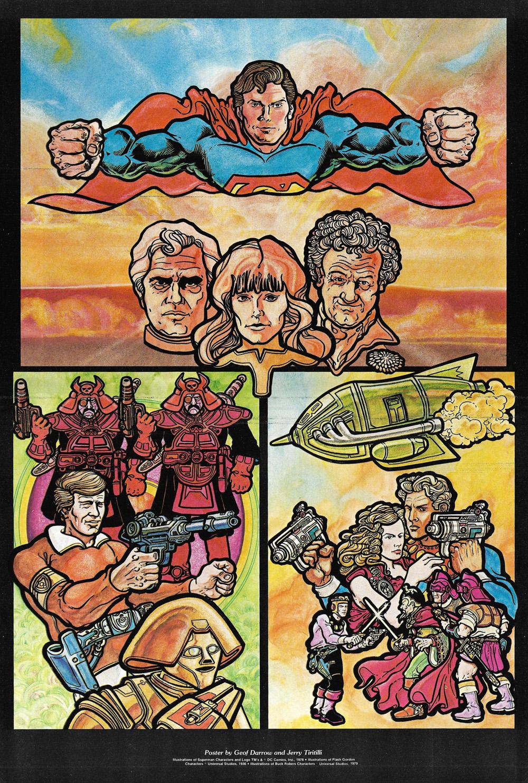 Superman by Geof Darrow, Fantastic Films magazine June 1979s
