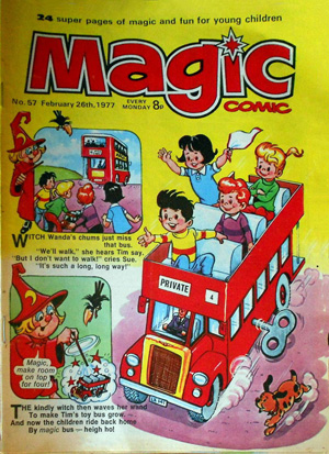 magic comic #57