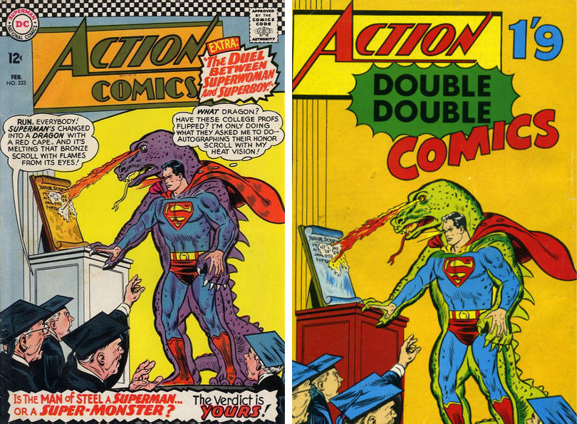 action double double #1