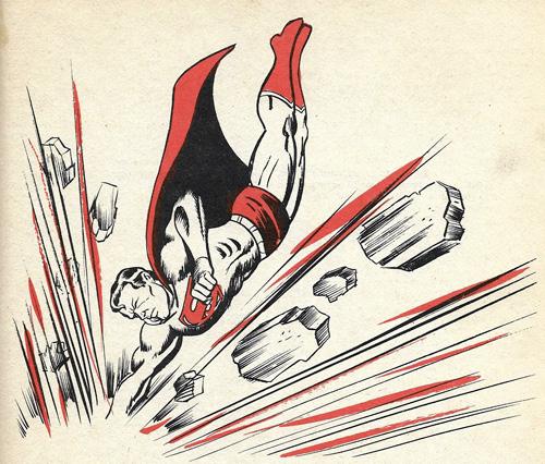 Superman Batman annual illo 1