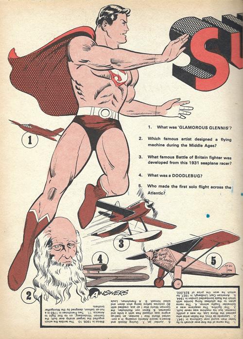 Superman Batman annual illo 2