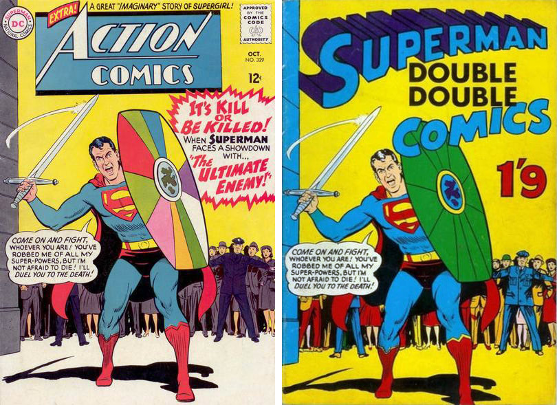 superman double double #1