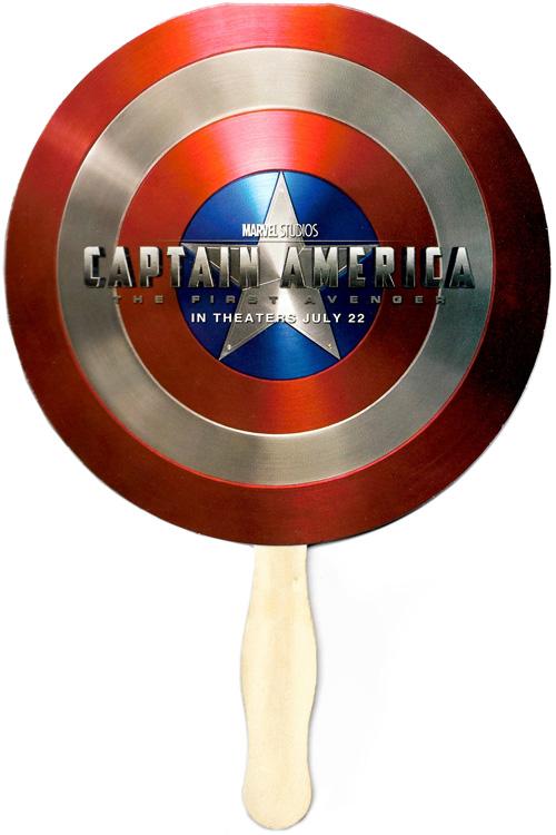 captain america shield fan