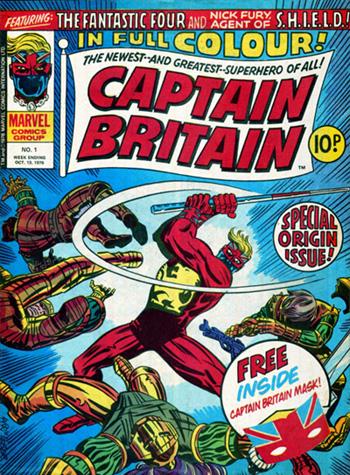 Captain Britain #01