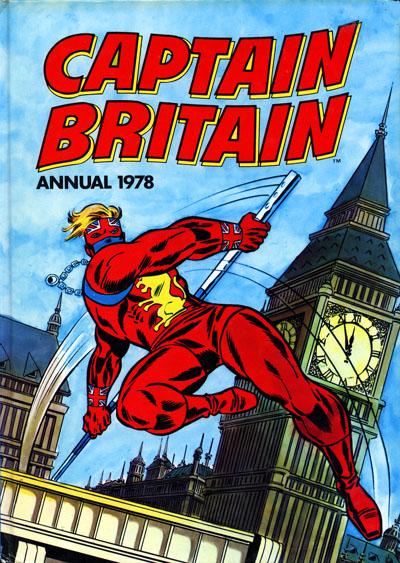 Captain Britain Annual