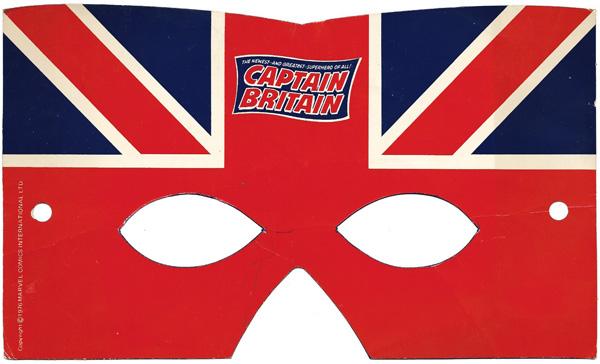 Captain Britain Mask