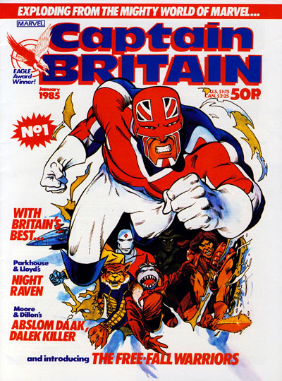 Captain Britain v2 01