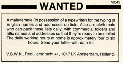 classified ad indy #3