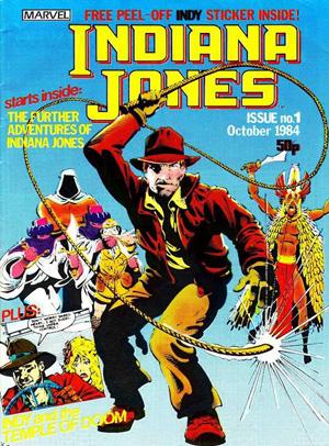 Marvel UK Indiana Jones #01 cover