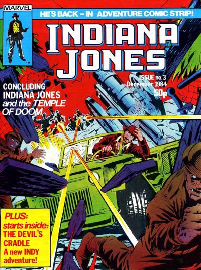 Marvel UK Indiana Jones #03 cover