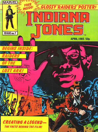 Marvel UK Indiana Jones #07 cover