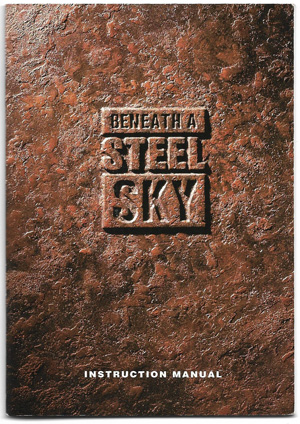 steel sky instruction cover