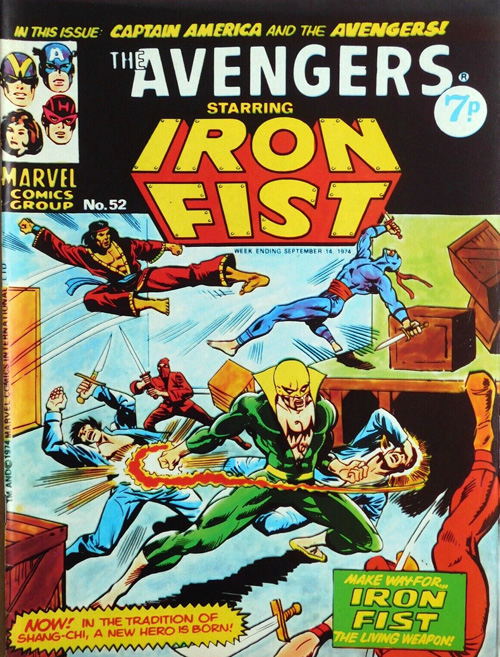 avengers uk #52