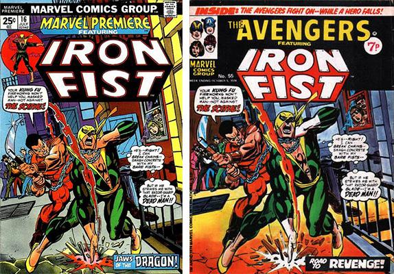 iron fist cover comparison 2