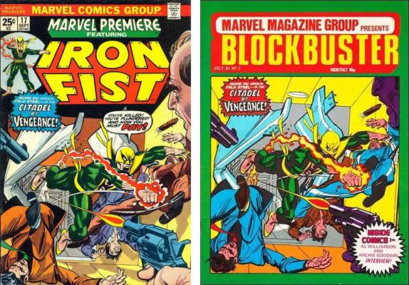 iron fist cover comparison 3