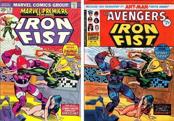 iron fist cover comparison 4