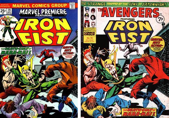iron fist cover comparison 5