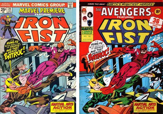 iron fist cover comparison 6
