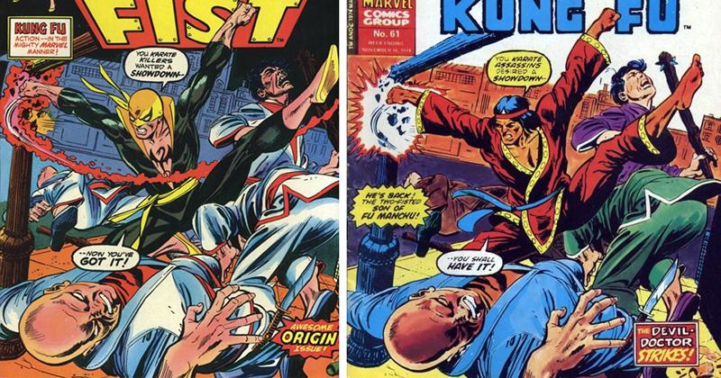 iron fist - shang chi comparison